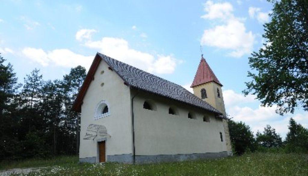 Podružnična cerkev sv. Roka v Srbotniku